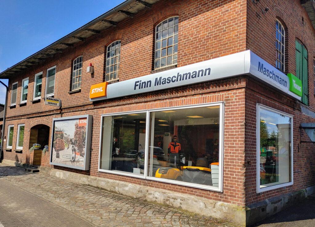 Außen Logo Finn Maschmann