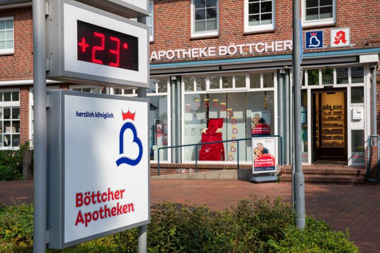 Die Böttcher Apotheke in Hohenwestedt